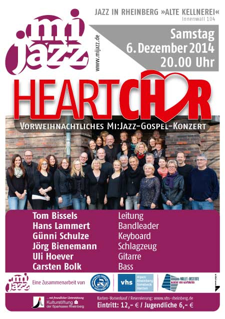 plakat heartchor news