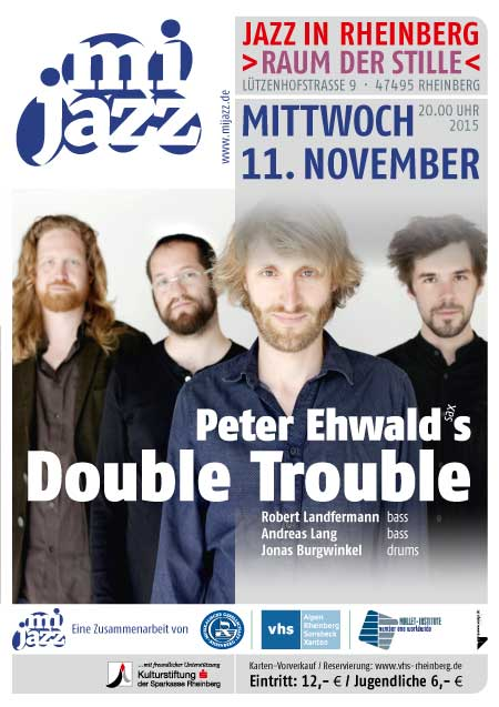 Plakat Double Trouble news